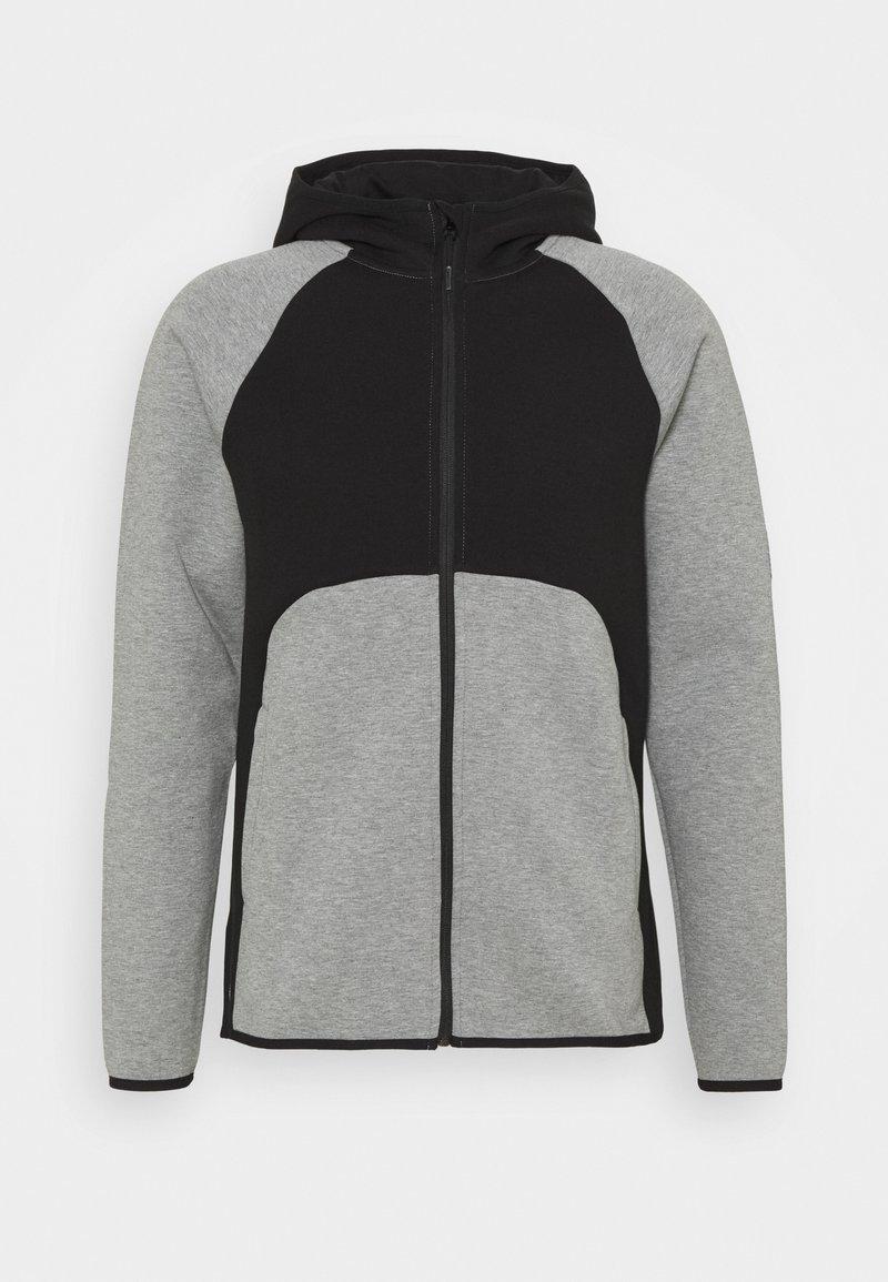 Puma - DIME JACKET - Training jacket - medium gray heather/black