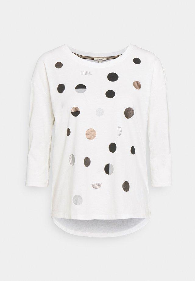 DOT - Long sleeved top - off white