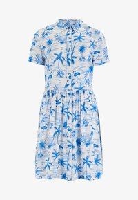 Sugarhill Brighton - KEELEY HAWAII FLAMINGO - Shirt dress - white - 3