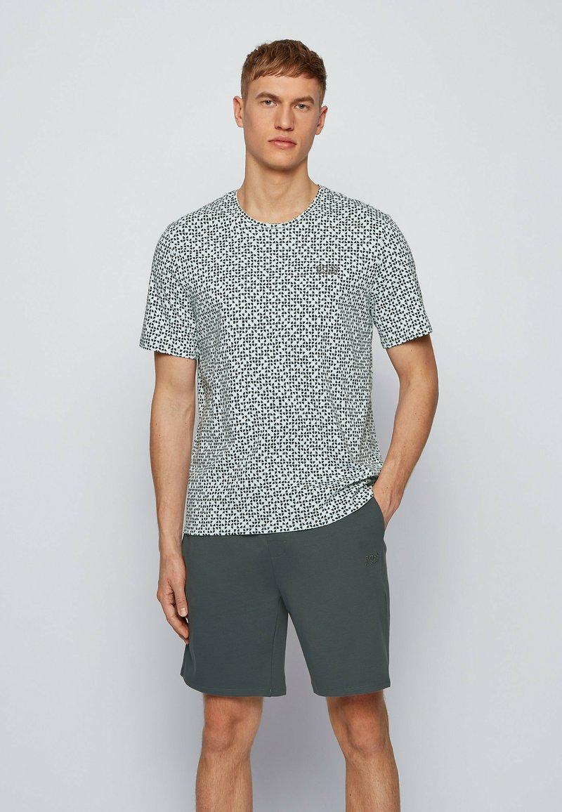 BOSS - SET - Pyjama set - dark green