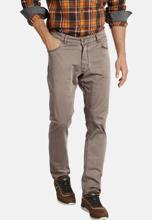 AKSEL - Pantalon classique - braun