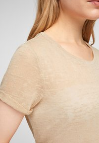 QS by s.Oliver - Blouse - beige - 3