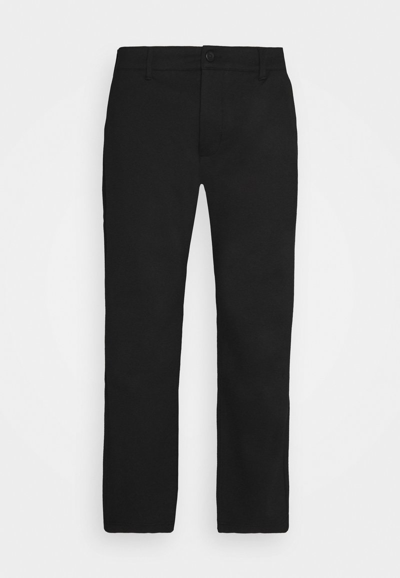 Denim Project - PLUS PONTE ROMA PLAN - Pantaloni - black