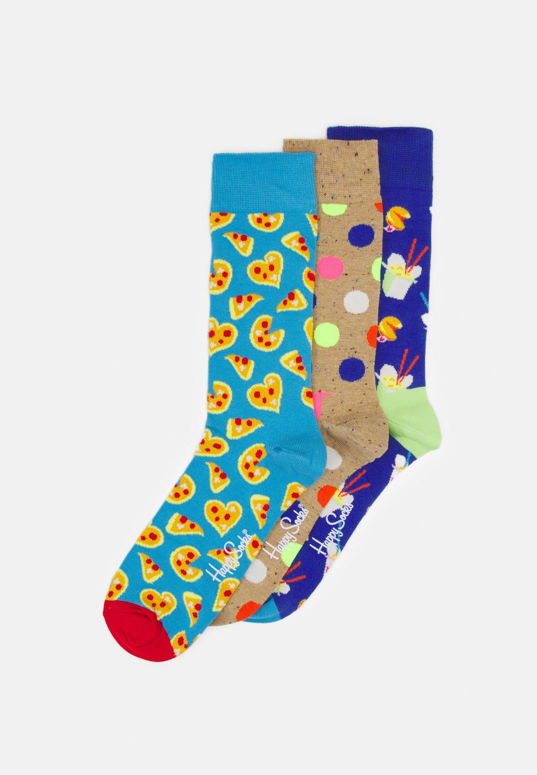 Herren PIZZA LOVE 3 PACK UNISEX - Socken
