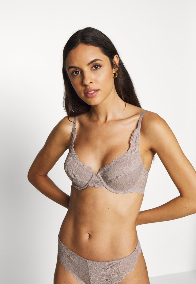 EDLYN BRA - Biustonosz push-up - light taupe