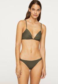 OYSHO - Bikini top - khaki - 0