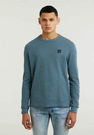 FIBRE - Maglietta a manica lunga - blue