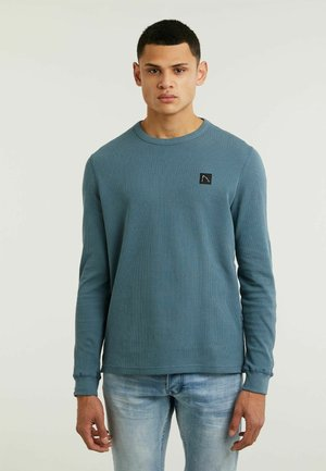 FIBRE - Camiseta de manga larga - blue