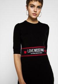 Love Moschino - Etui-jurk - black - 6
