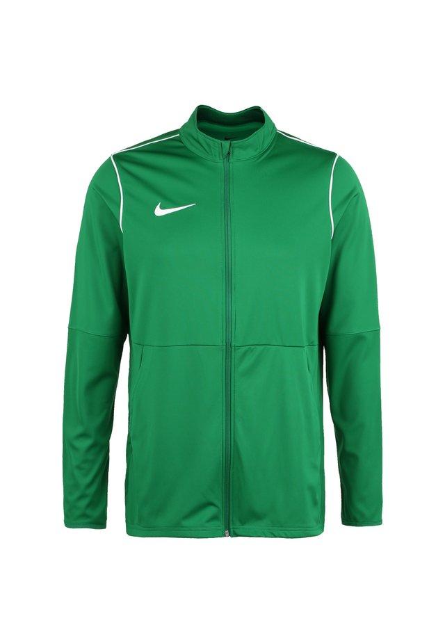 PARK - Kurtka sportowa - pine green / white