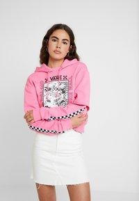 Vans - LADY STING HOODIE - Hoodie - azalea pink - 0