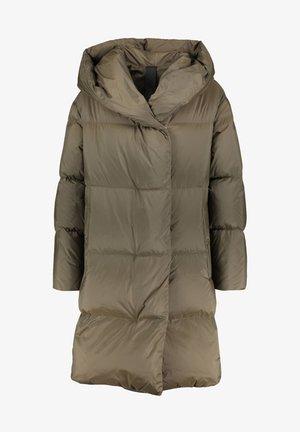 Down coat - grün