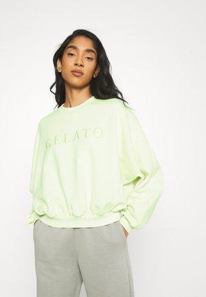 EVE  - Sweater - lime cream