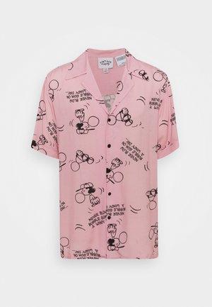 SNOOPY LUCY BUBBLE GUM  - Vapaa-ajan kauluspaita - pink