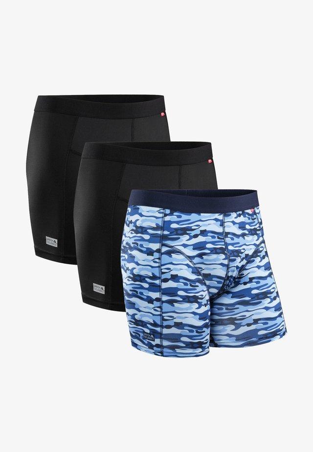 3 PACK - Underkläder - blue