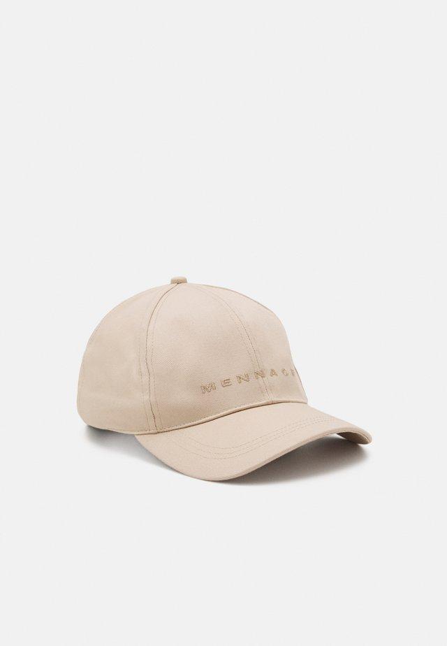 LUV LETTER DETAIL BASEBALL UNISEX - Cap - beige