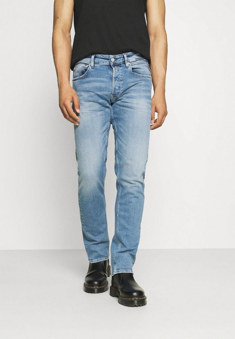 Replay - GROVER - Straight leg jeans - light blue