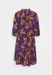 Farm Rio - BOROGODO BANANAS DRESS - Shirt dress - purple/yellow - 7