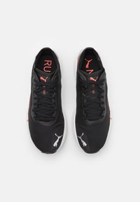 Puma - LIBERATE NITRO - Obuwie do biegania treningowe - black/lava blast - 3