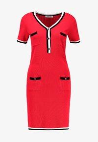 Morgan - Shift dress - rouge - 5