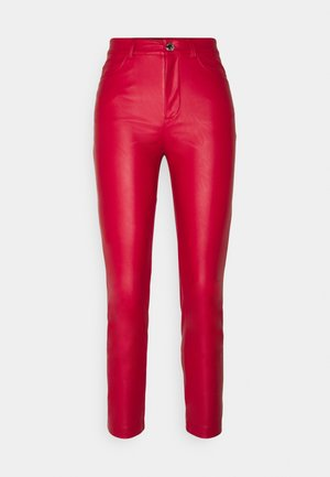 SUSAN TROUSERS - Trousers - red