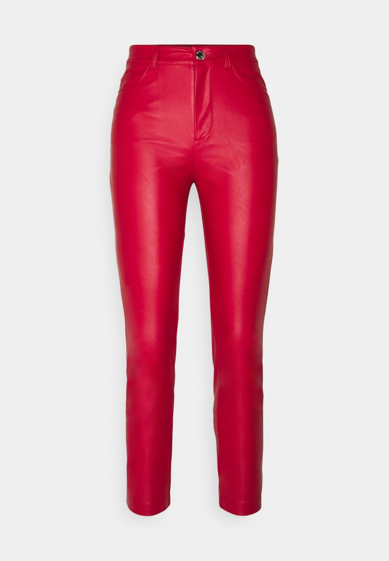 Pinko - SUSAN TROUSERS - Trousers - red