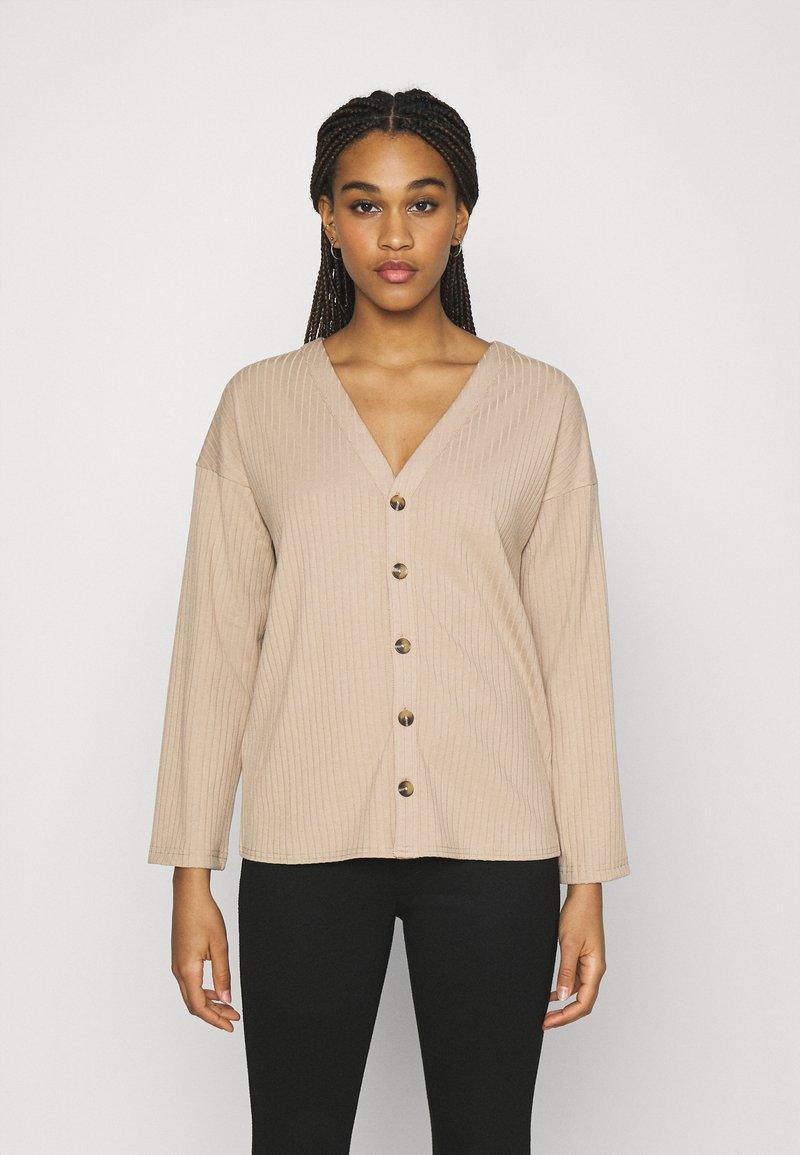 Fashion Union - BRYONY CARDI - Cardigan - beige