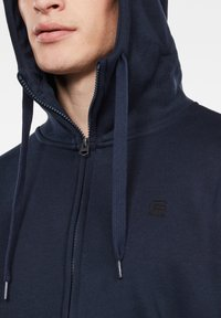 G-Star - PREMIUM BASIC HOODED ZIP - Zip-up hoodie - sartho blue - 3