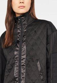 G-Star - BEETLE QUILT ZIP - Winter jacket - black - 3