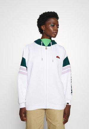 SEPE - Zip-up sweatshirt - white