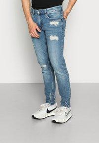 Redefined Rebel - STOCKHOLM DESTROY - Jeans slim fit - soft blue - 0
