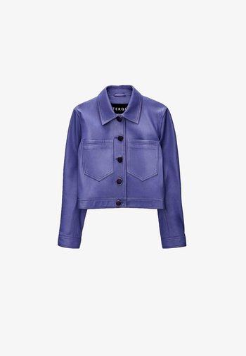 Leather jacket - lilac