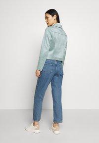 comma - JACKET - Faux leather jacket - smokey blue - 2