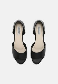 Nly by Nelly - Peeptoe ballet pumps - black - 5