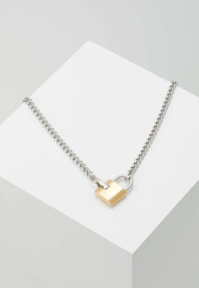 SAFEGUARD - Necklace - silver-coloured