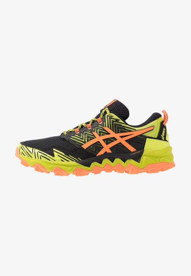 GEL FUJITRABUCO 8 - Trail hardloopschoenen - neon lime/shocking orange