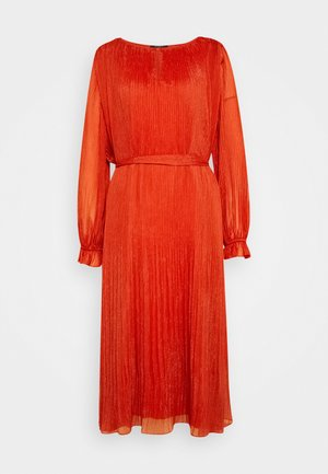 EMILIE LEONORA DRESS - Cocktail dress / Party dress - brick red