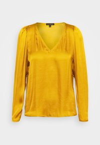 Banana Republic - PUFF SLEEVE SOFT - Blouse - dark yellow - 3
