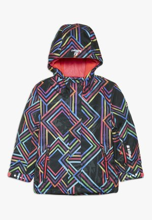 GIZELA ALLOVER  - Ski jacket - schwarz