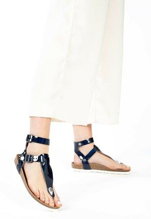 KWINANA - Ankle cuff sandals - blue