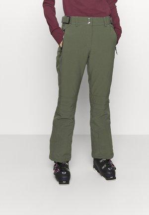 SIRANYA - Pantalon de ski - oliv