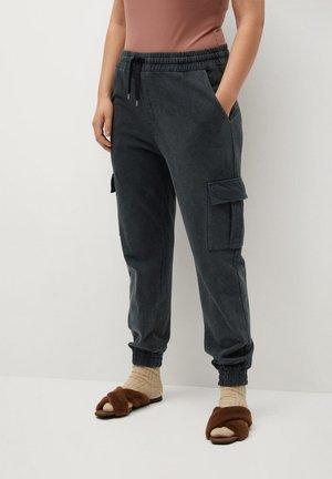 CARGO - Pantaloni cargo - grau