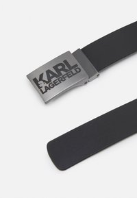 KARL LAGERFELD - BELT REVERSIBLE UNISEX - Belt - black - 2