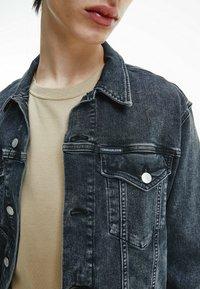 Calvin Klein Jeans - Denim jacket - denim black - 3