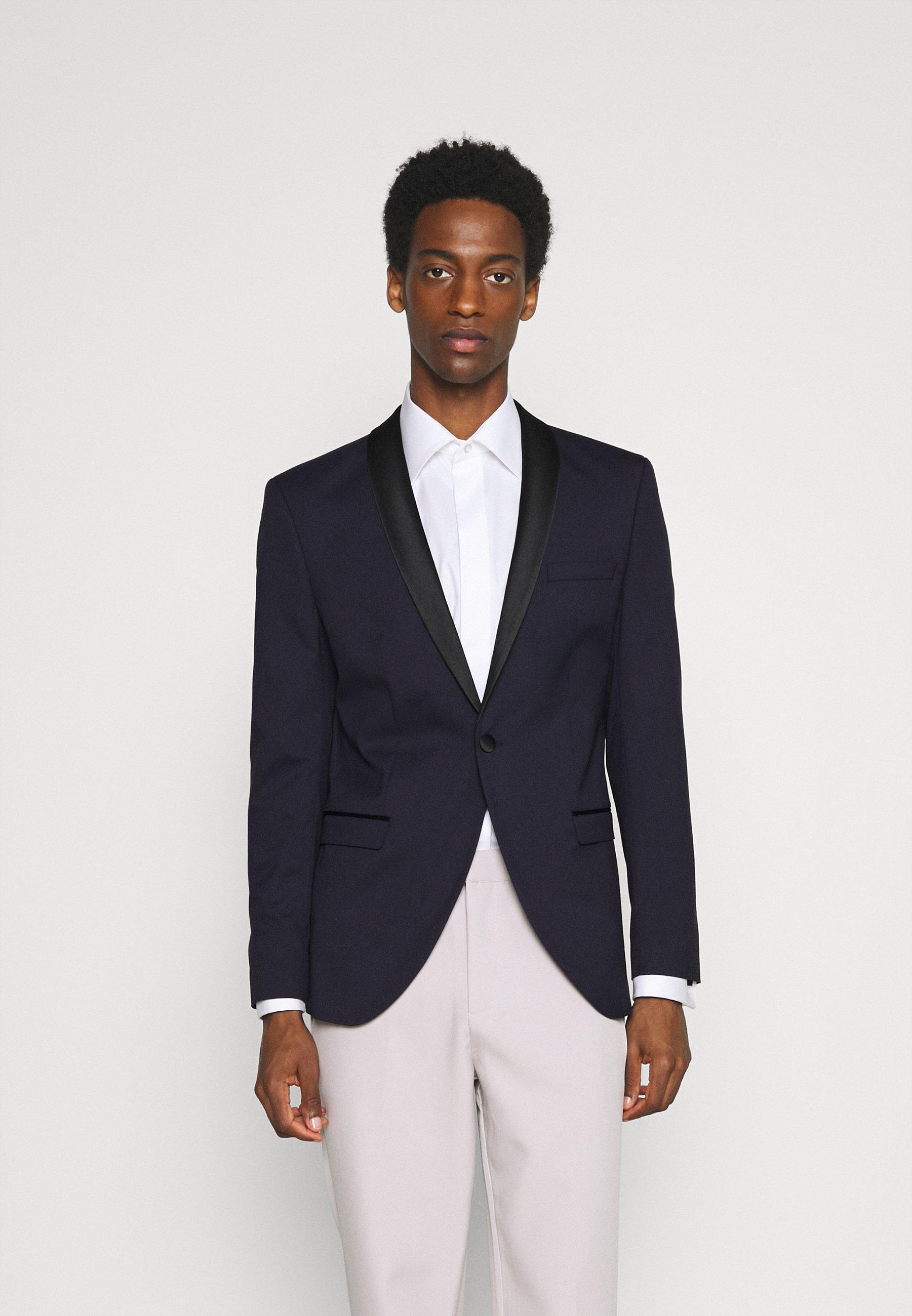 Men SLHSLIM SKYLOGAN TUX - Blazer jacket