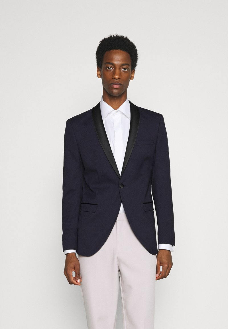Selected Homme - SLHSLIM SKYLOGAN TUX - Blazer jacket - navy blazer