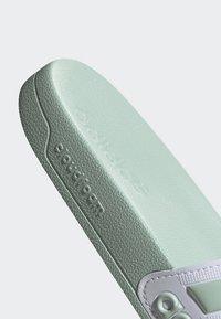 adidas Performance - ADILETTE SHOWER SLIDES - Pool slides - green tint - 2