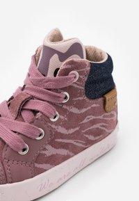 Geox - KILWI GIRL - Zapatillas altas - rose smoke - 5