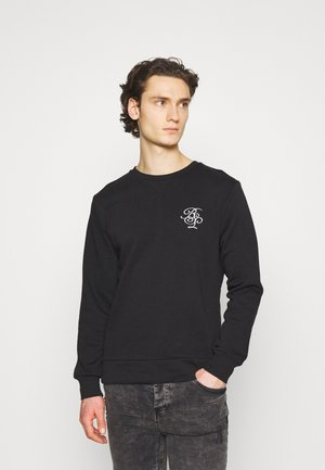 ARTHUR - Sweatshirt - jet black/optic white