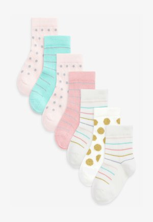 7 PACK PRETTY SPOT - Socks - multi-coloured